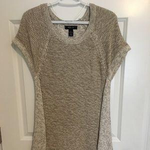 Two tone knit dress. Size L